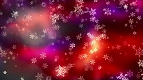 Bakgrund för jul och för nytt år stock video