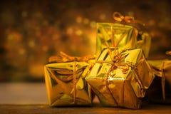 Bakgrund för jul och för nytt år Fotografering för Bildbyråer