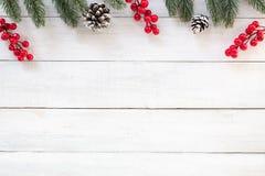 Bakgrund för jul och för nytt år arkivfoton