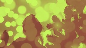 Bakgrund för julkonturabstrakt begrepp Guld- flimrande ljus Helgdagsafton för jul för hälsningkort Guld- färg för exponeringsljus arkivfilmer