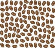 Bakgrund för kaffebönor Royaltyfri Bild