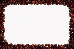 Bakgrund för kaffebönor Arkivbilder