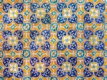 Bakgrund för keramiska tegelplattor för tappning, perfekt färgrik modell fotografering för bildbyråer