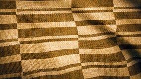 Bakgrund för klädtygtextur Bästa sikt av torkduketextilyttersida Det naturliga linnet texturerar för bakgrunden lampa royaltyfri fotografi