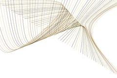 Bakgrund för konst för färgabstrakt begrepplinje & för geometrisk modell för kurva generativ Design, kanfas, idérikt & form royaltyfri illustrationer