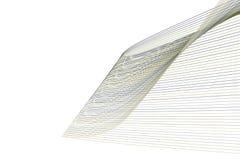 Bakgrund för konst för färgabstrakt begrepplinje & för geometrisk modell för kurva generativ Design, teckning, stil & idérikt vektor illustrationer