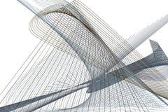 Bakgrund för konst för färgabstrakt begrepplinje & för geometrisk modell för kurva generativ Idérikt, tapet, design & smutsigt vektor illustrationer