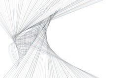 Bakgrund för konst för färgabstrakt begrepplinje & för geometrisk modell för kurva generativ Tapet digitalt, effekt & design stock illustrationer