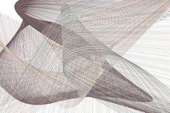 Bakgrund för konst för färgabstrakt begrepplinje & för geometrisk modell för kurva generativ Tapet, effekt, räkning & digitalt vektor illustrationer