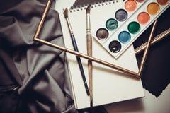 Bakgrund för konstnärer Royaltyfri Fotografi