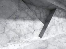 Bakgrund för konstruktion för konkret arkitekturabstrakt begrepp geometrisk Royaltyfri Foto