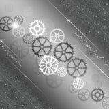Bakgrund för kugghjulframstegabstrakt begrepp Arkivbilder