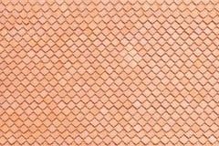 Bakgrund för lerataktegelplatta eller textur- och kopieringsutrymme arkivfoto