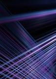 Bakgrund för lila- och blåttljusslingor Royaltyfria Foton