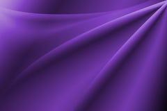 Bakgrund för lilaabstrakt begreppkurva Arkivfoto