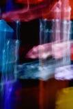 Bakgrund för ljusa effekter, abstrakt ljus bakgrund, ljus läcka Arkivfoton