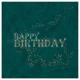 Bakgrund för lycklig födelsedag, vektorillustration Arkivbild
