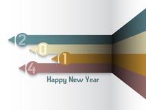 Bakgrund för lyckligt nytt år stock illustrationer