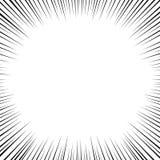 Bakgrund för Manga bokstil Humorbokbakgrund med rastrerad effekt Superheroen överraskar effekt, hastighetslinjer ram vektor illustrationer