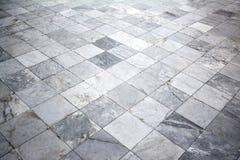 Bakgrund för marmortegelplattagolv Arkivfoton