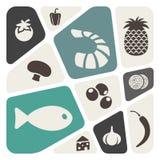 Bakgrund för mattemaabstrakt begrepp royaltyfri illustrationer