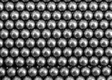 Bakgrund för metallbollar arkivfoton