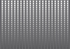Bakgrund för metallplatta Vektor Illustrationer