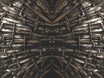 Bakgrund för metallriddaresvärd close upp Begreppsriddarna royaltyfri foto