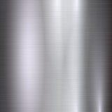 Bakgrund för metalltexturvektor Arkivfoto