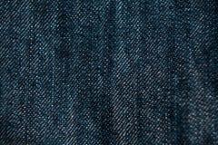 Bakgrund för mode för design för grov bomullstvilljeanstextur Royaltyfria Bilder