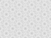 Bakgrund för modell 3d för vektor blom- sömlös Arkivbild