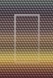 Bakgrund för modell 3D för kub som beige geometrisk är modern vektor illustrationer