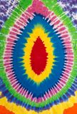Bakgrund för modell för färgrik psykedelisk bandfärgdesign unik Arkivfoton