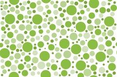 Bakgrund för modell för grön färg för klassiker prickig sömlös Fotografering för Bildbyråer