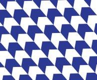 Bakgrund för modell för pil för op konst för timmer blå diagonal Arkivbild