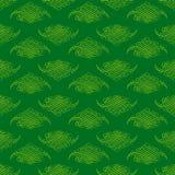 Bakgrund för modell för tappningramgräsplan dekorativ Royaltyfri Bild