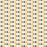 Bakgrund för modell för triangel för apelsin brun flip gjord randig vektor illustrationer