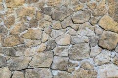 Bakgrund för murverk för stenvägg Arkivbilder