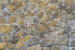 Bakgrund för murverk för stenvägg Royaltyfria Foton