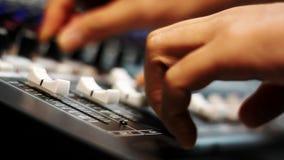 Bakgrund för musikmusikbandbegrepp lager videofilmer
