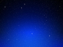 Bakgrund för nattSky Arkivbilder