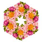Bakgrund för ny blomma Arkivbilder
