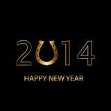 bakgrund för nytt år 2014 Royaltyfri Foto
