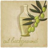 Bakgrund för olivgrön filial Royaltyfri Fotografi