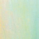 Bakgrund för olje- målarfärg, ljus ultramarine blått, guling, rosa färgen, turkos, den stora borsten slår målning specificerad te arkivfoton