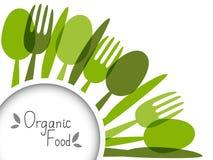 Bakgrund för organisk mat Arkivbilder