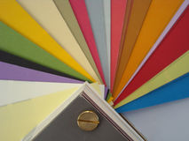 Bakgrund för Paper färger Royaltyfria Foton