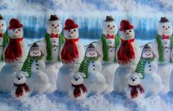 Bakgrund för papper för julvinterinpackning Arkivfoto