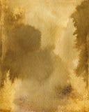Bakgrund för papper för vatten för vattenfärgkaffefärg Abstrakt brun rasterillustration Arkivfoton