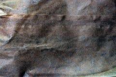 Bakgrund för pappers- påse med jordsignaler Royaltyfria Foton